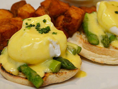 Have breakfast at Hal's Bar & Grill in Playa Vista, CA